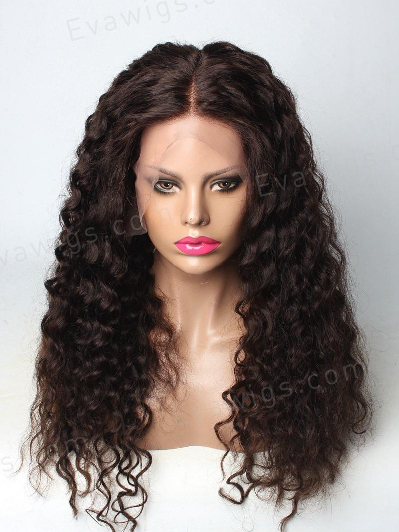 Curly 360 Lace Wig With 4 Inches Free Parting 10 Quot 24