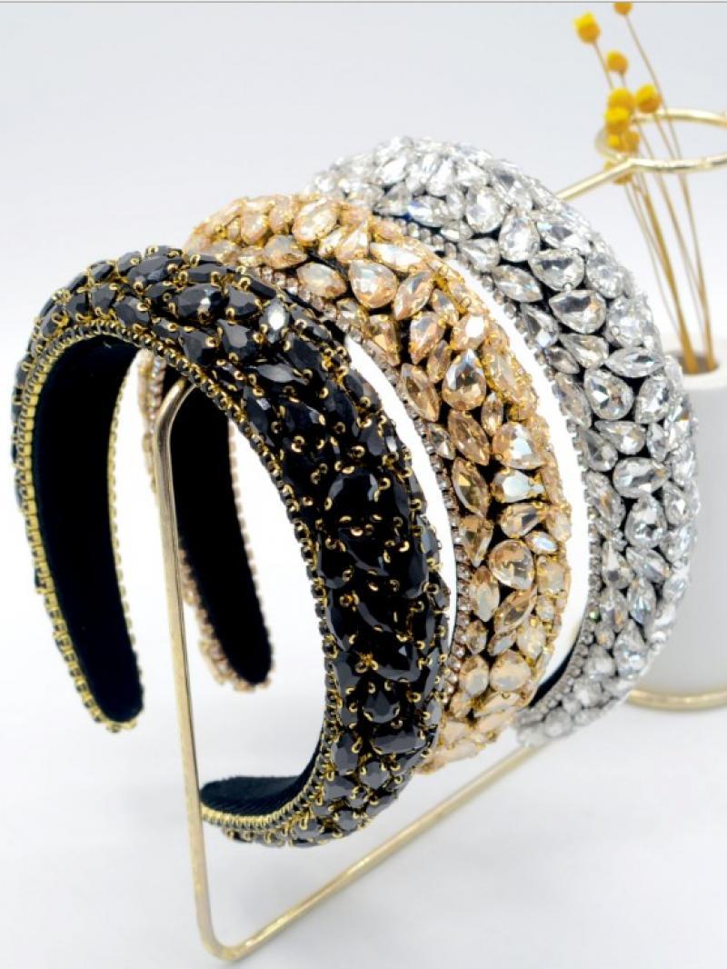 Oval Diamond Headband