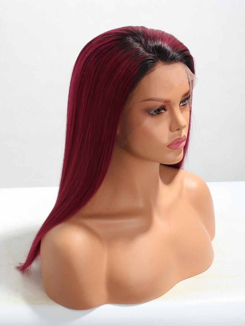 "Custom 3"" Lace Front Human Hair Wig More Colors Available Length from 10"" - 16"" for This Style"