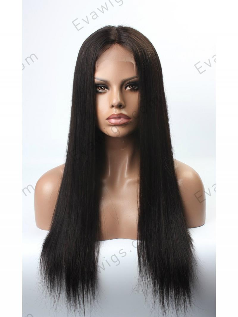 Stock 3 Quot Parting Long Straight 100 Indian Remy Human Hair