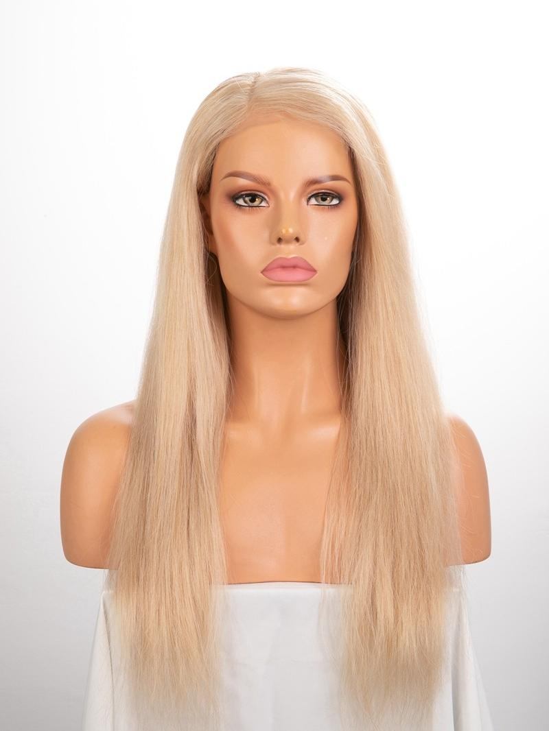 "Made To Order 16""-22"" 613 Blonde 5*5 Undetectable HD Lace Closure Wig"