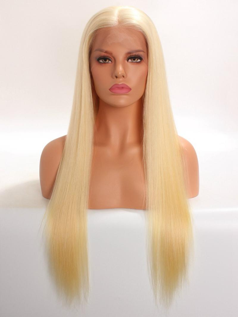 "22"" 150% Hair Density Blonde Color in 100% High Quality Virgin Remy Human Hair"