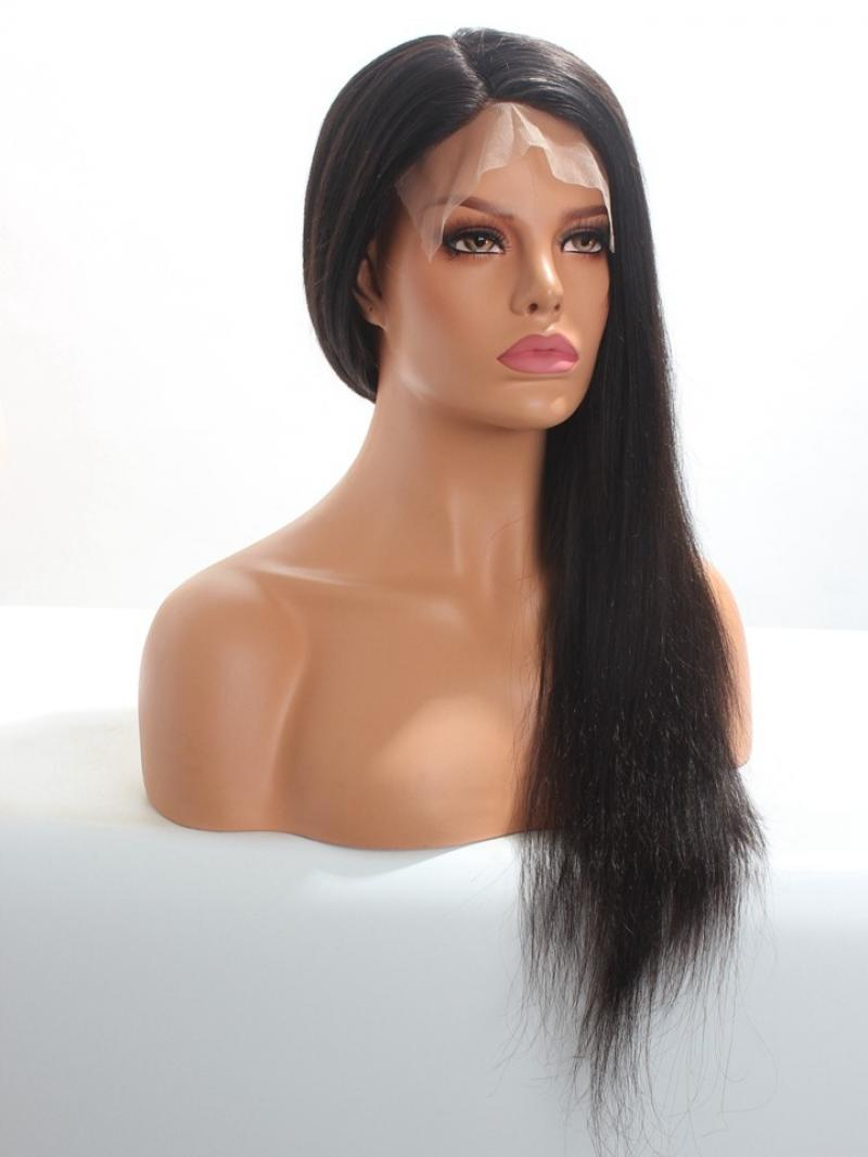 Silk Top Soft Remy Human Hair Full Lace Wig