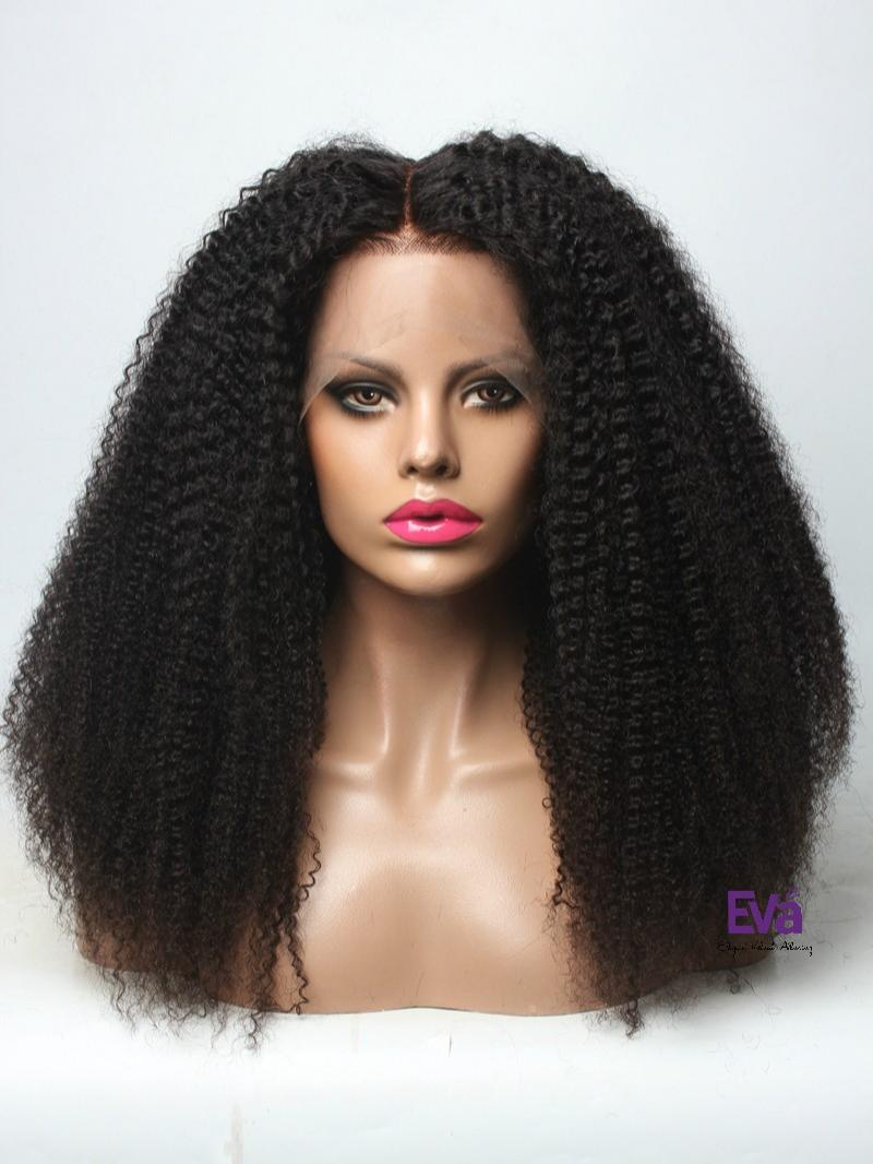 ... Quality Human Hair Full Lace Wig. 4A-4B Hair - Natural Coily 16