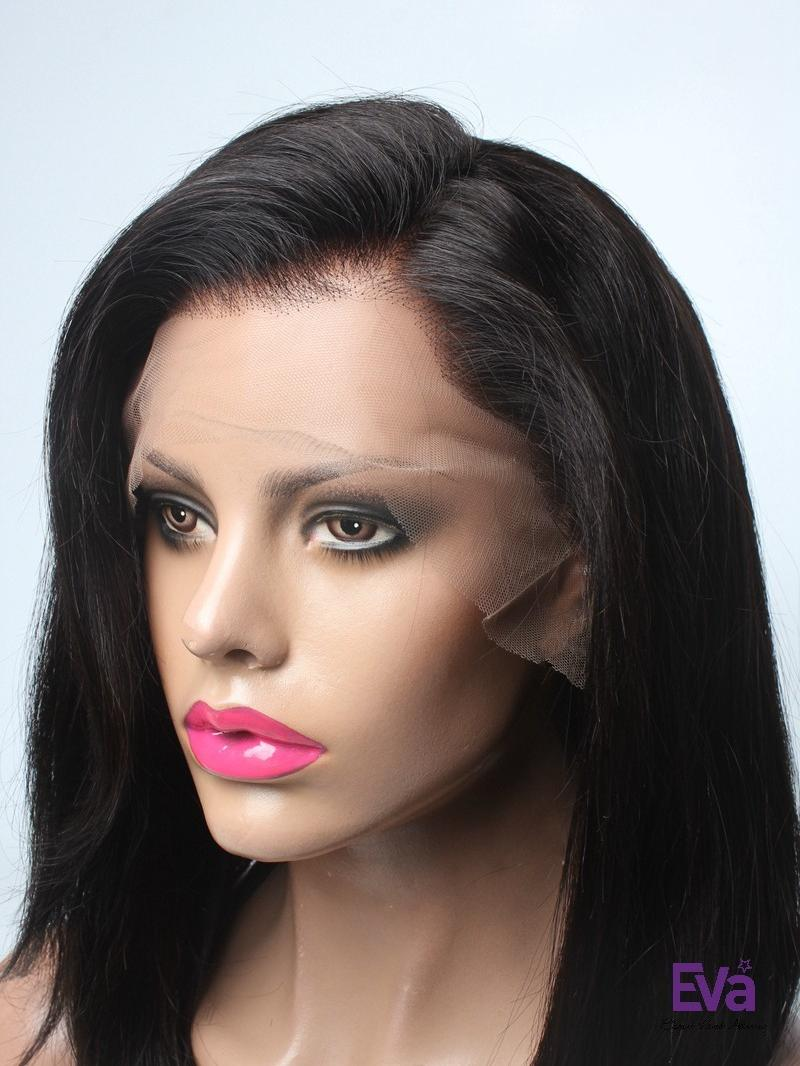 """16"""" 150% SILKY STRAIGHT FULL LACE WIG"""