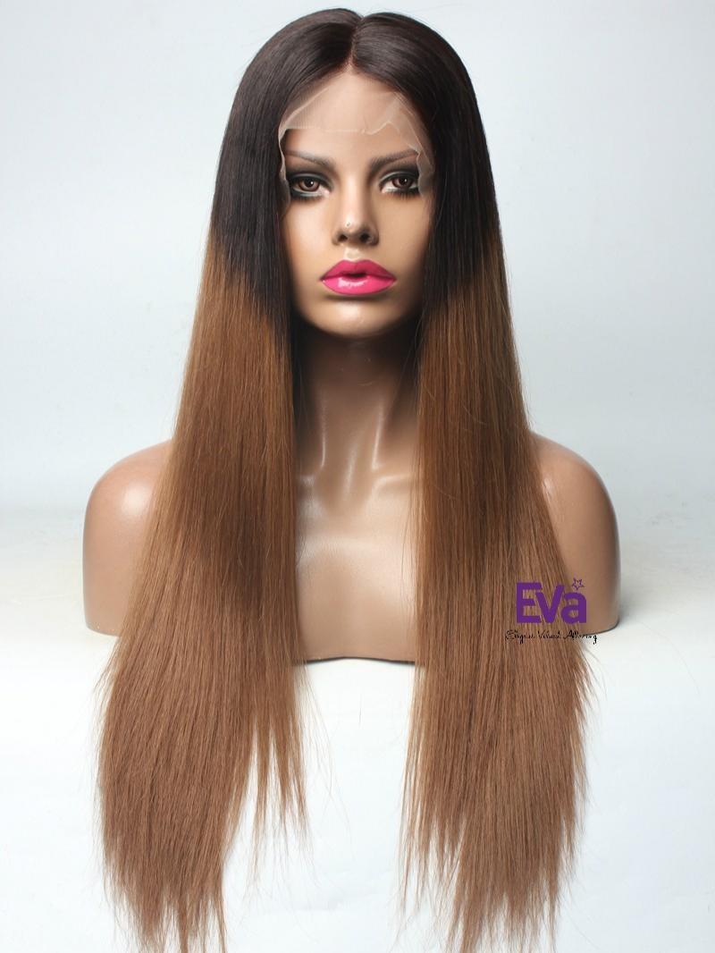 Silky Straight 5*5 Lace Closure Human Hair Wig