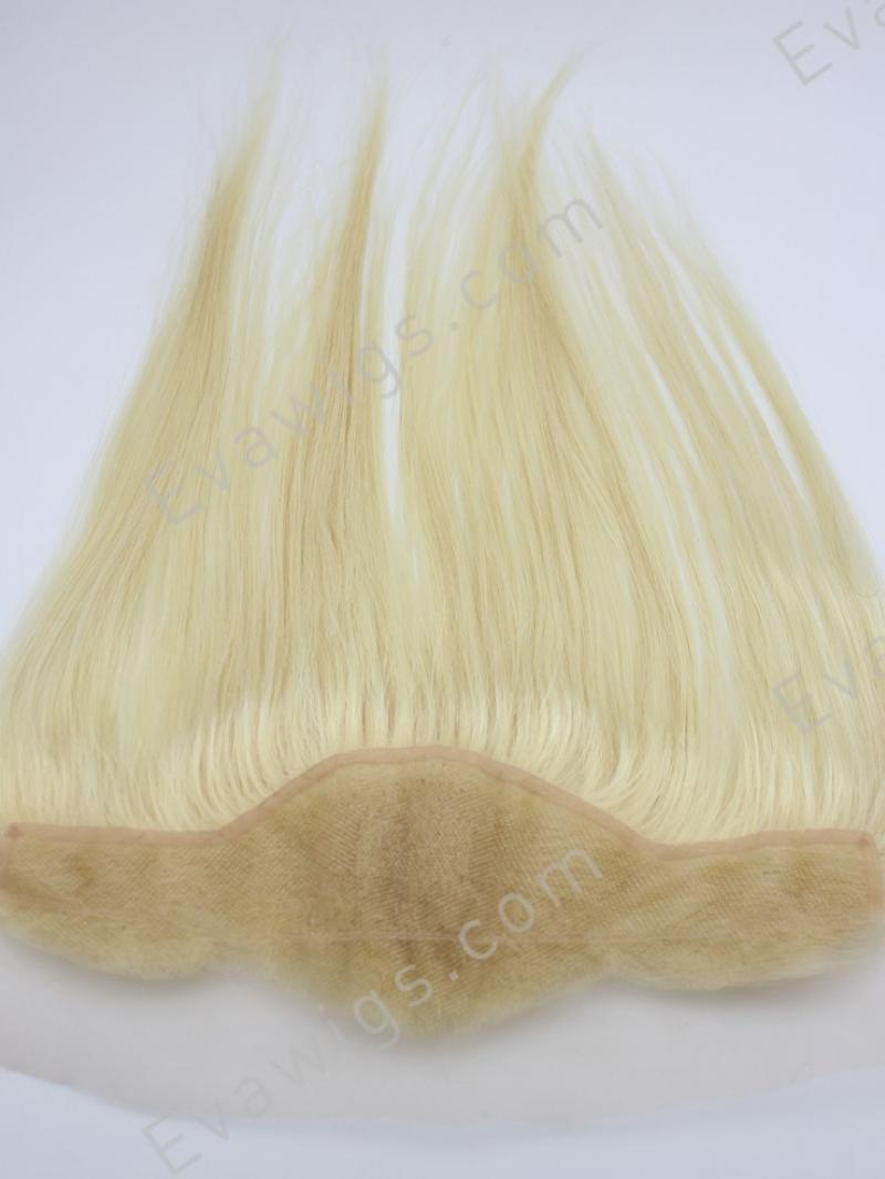 Custom Color Straight 100% Virgin Human Hair Lace Frontal Closure