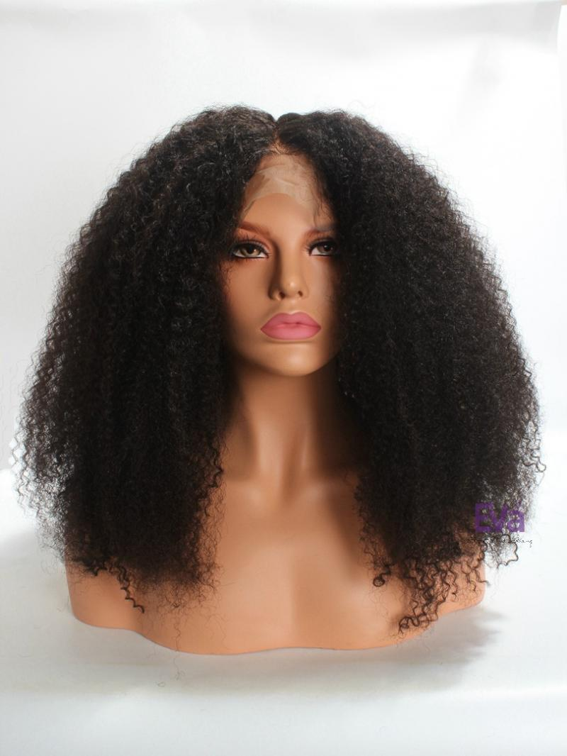 Best Seller Type 4 Hair Full Lace Human Hair Wig with Pre-plucked Hairline