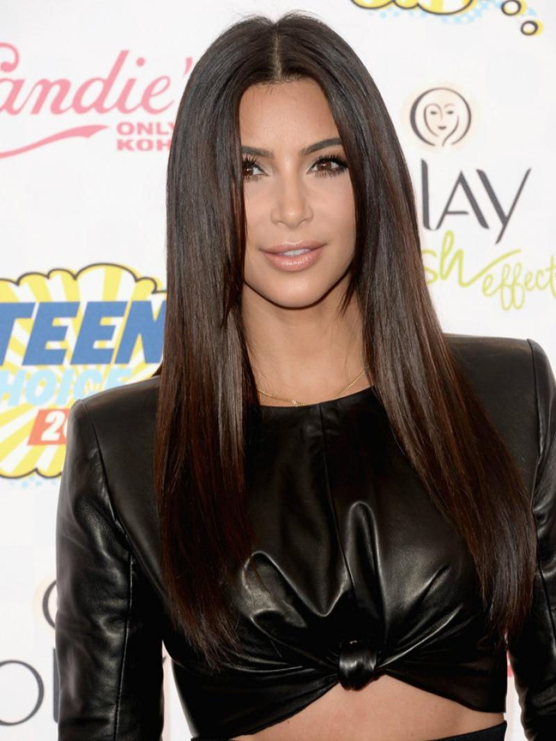 "Custom Length and Price Starting from 10"" In Stock Center Part Straight Sleek Simple Style Full Lace Human Hair Wig"