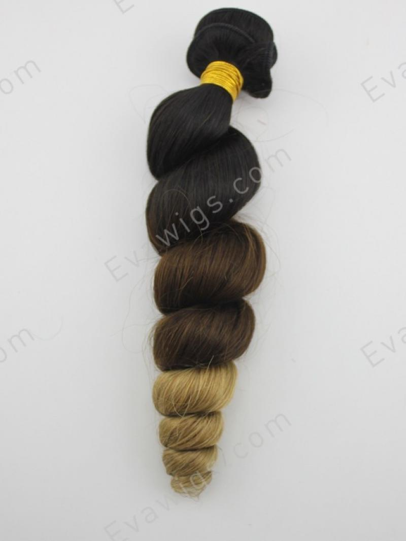 3 Colors Brazilian Virgin Human Hair Weave