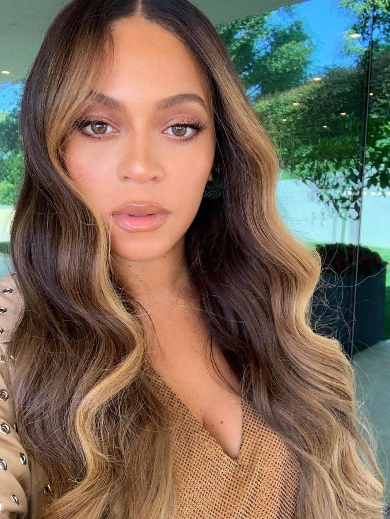 "Custom Beyonce Inspired Balayage Hair Color 16"" -24"" Full Lace Human Hair Wig"