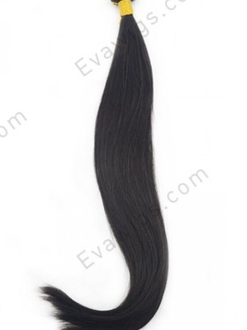 Silky Straight 100% Human Hair Weave