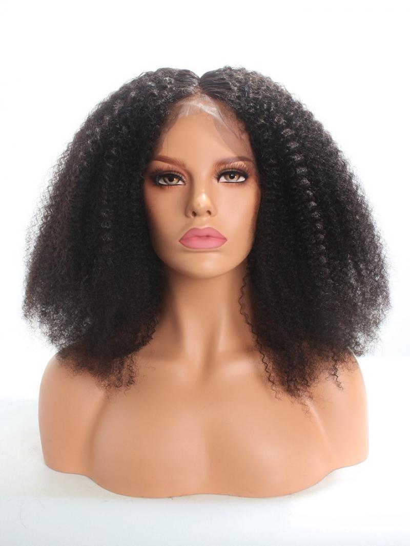 Type 4 Hair Natural Texture Full Lace Human Hair Wig
