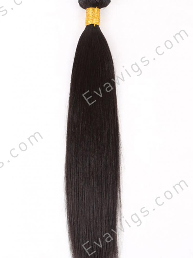 Yaki Straight 100% Human Hair Weave