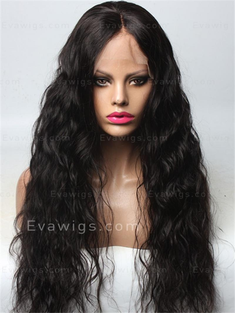 Body Wavy Full Lace Human Hair Wig With Baby Hair and Pre-plucked Hairline
