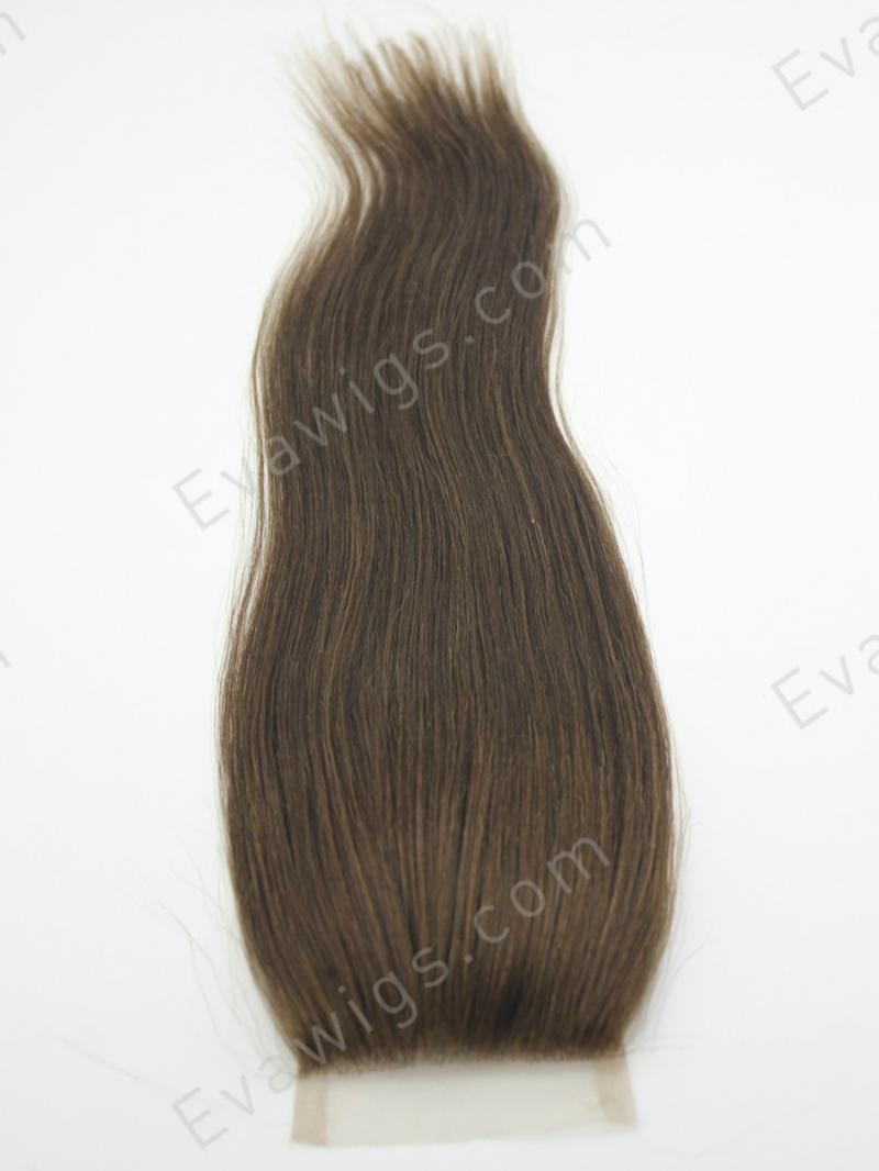 Straight Lace Top Brazilian Virgin Hair Closure