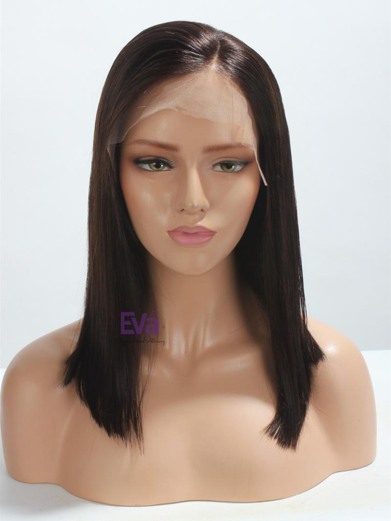 "Ready to Ship 3"" Lace Parting 16"" Bob Cut Lace Front Wig"