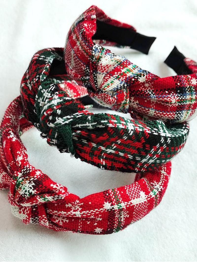 3 Pieces Christmas Style Headband