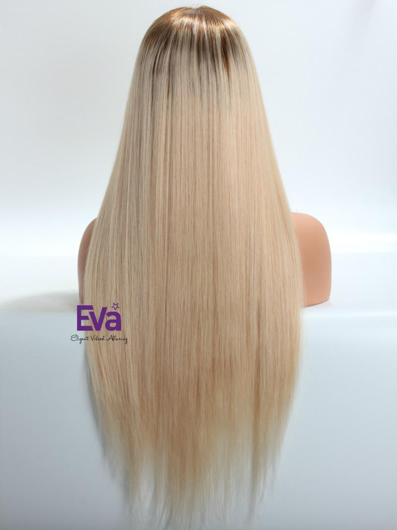 Lexi Blonde Hair Ombre Blonde Color Affordable 3 Parting Lace Front